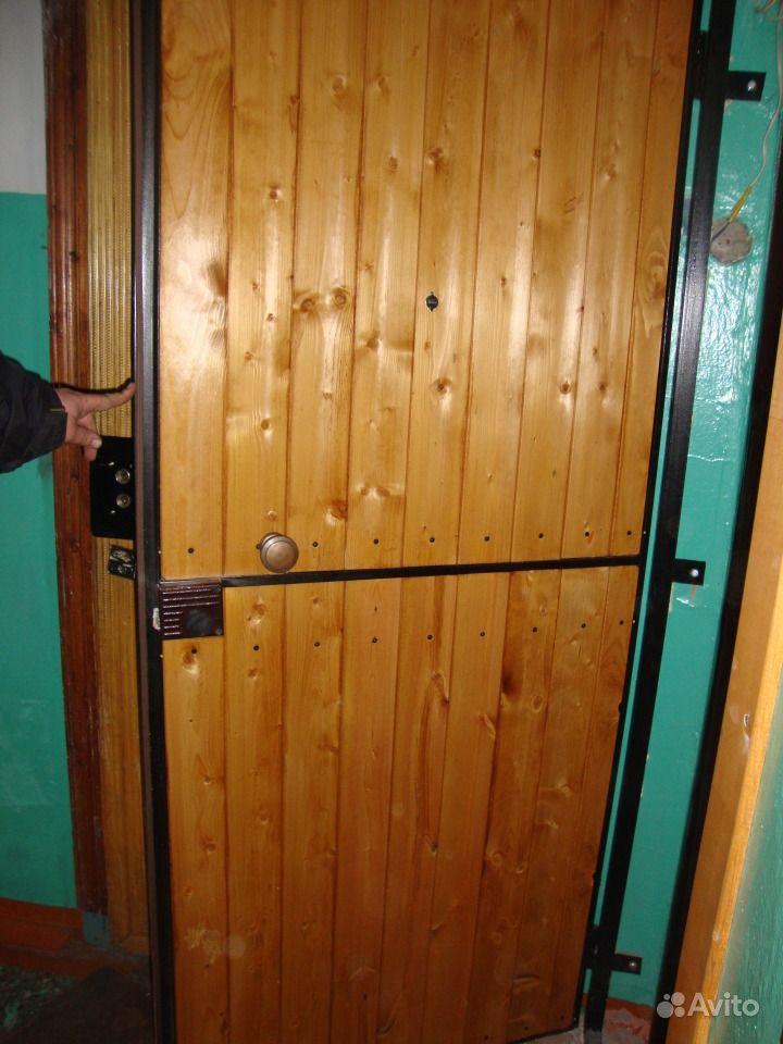 стоимость дверей металлических обшитых деревом