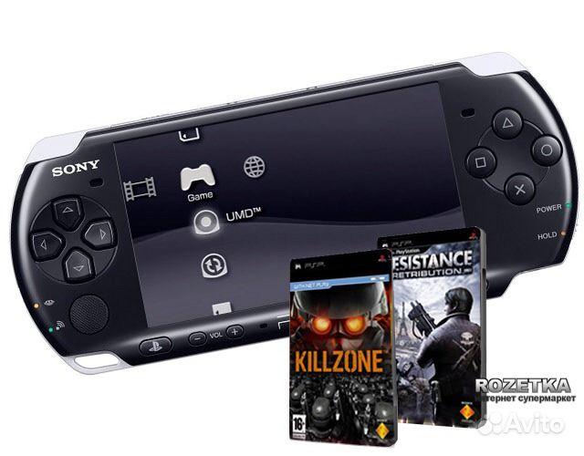 PSP Sony E1008 Black в Салавате. Объявление Psp Sony 3008 (3 ф