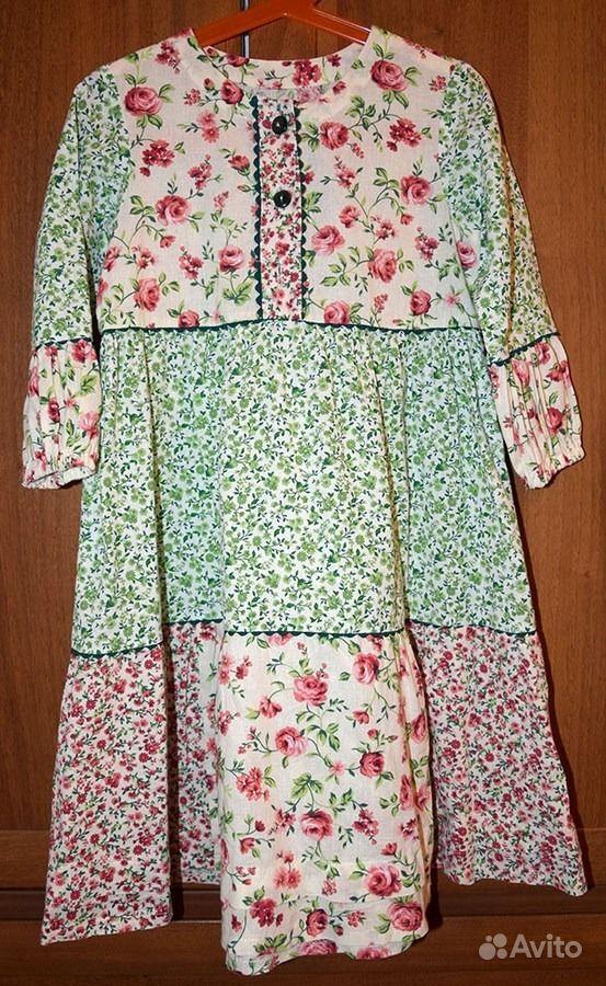 Платье, размер 104-110 см.  Москва