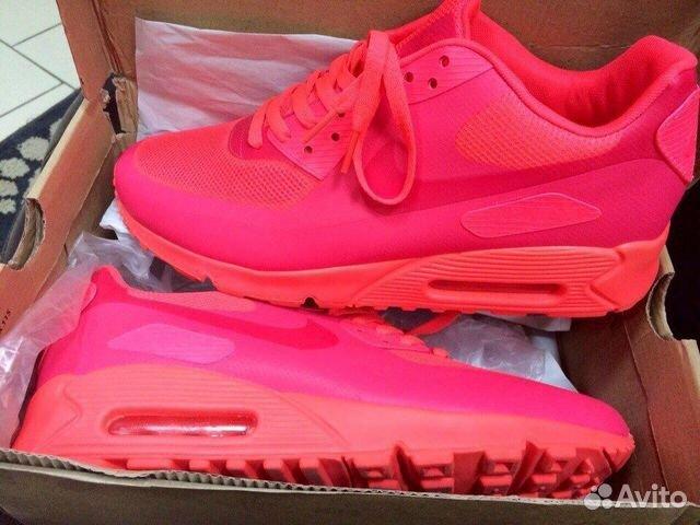 Nike air max ярко розовые купить в Красноярском крае на Avito ...