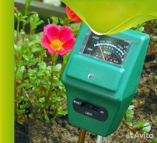 Планета Садовод - измерители кислотности почвы