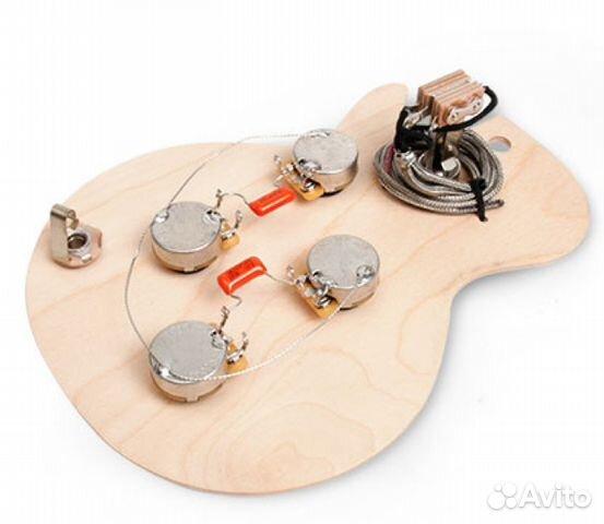 схема Gibson Les Paul, США