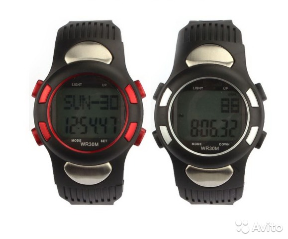 Часы+кардиомонитор+GPSтрекер+шагомер+MP3плеер+