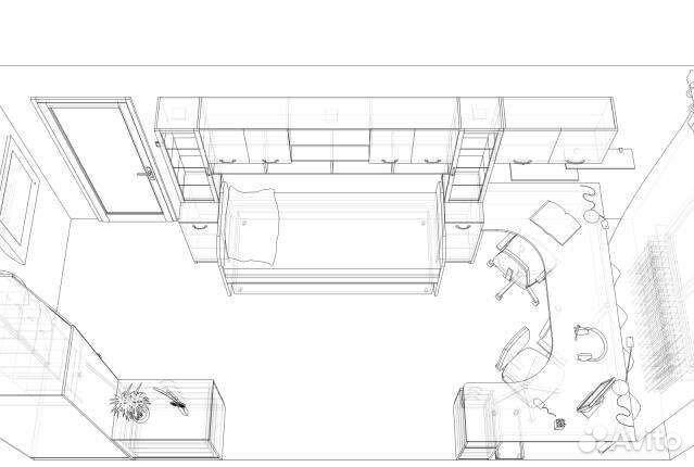 Чертежи корпусная мебель
