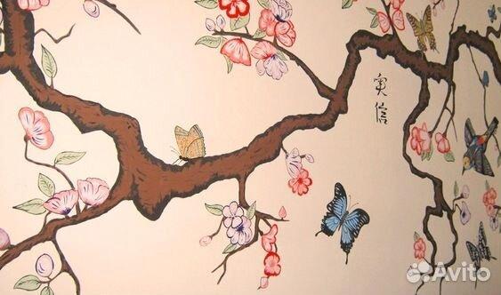 Декор рисунки стен своими руками