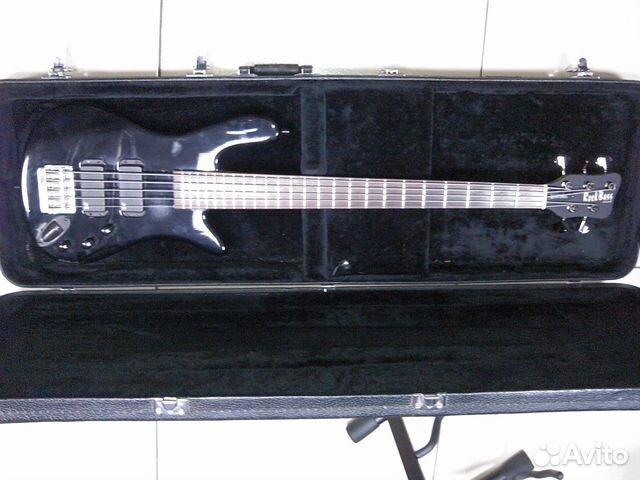 Бас-гитара Warwick RockBass Streamer Std 5 str, 2003 года выпуска (Можете с