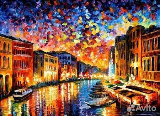 Алмазная мозаика 50x40 Венеция