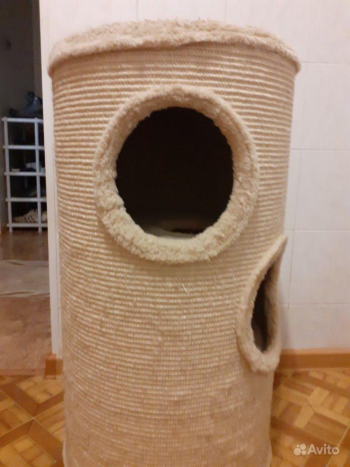 Домик кошачий когтеточка купить на Зозу.ру - фотография № 2