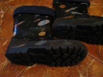 Резиновые сапоги Капика (с огоньками) 26-27