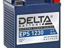 Аккумулятор для квадроцикла delta EPS1230 — Запчасти и аксессуары в Санкт-Петербурге
