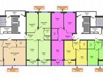 1-к квартира, 38.1 м², 6/16 эт.