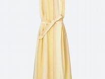 89f918e254d Uniqlo U Lemaire платье светло-желтое S