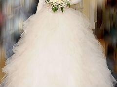 Свадебное недорогое платье на авито