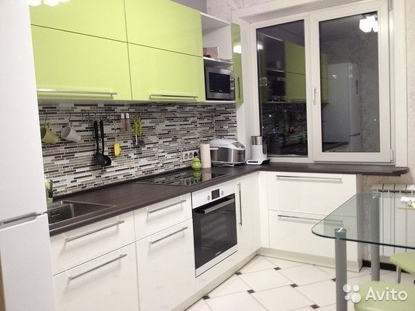 кухня в маленькой квартире фото