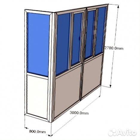 Г образный балкон рехау, plafen купить в саратовской области.