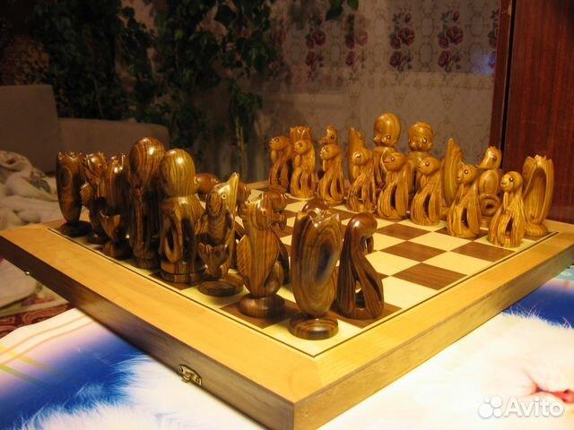 продам деревянные шахматы ручная работа купить в республике крым на
