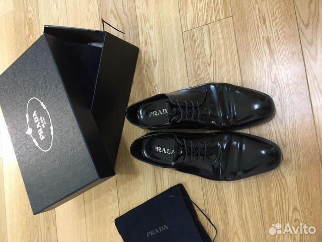 efd44158fea2 Мужские туфли Prada купить в Москве на Avito — Объявления на сайте Авито