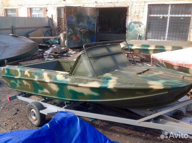 лодка казанка 5м4 бу москва