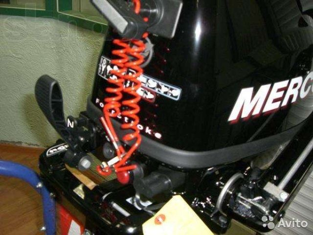 обкатка двухтактного лодочного мотора меркури 5