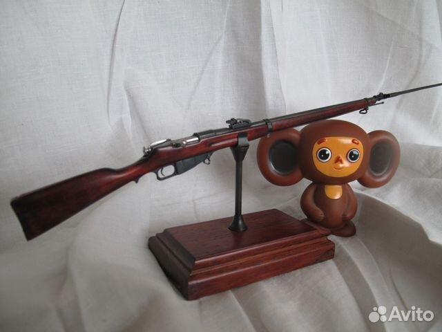 Макет винтовки образца 1891г. Масштаб 1:5