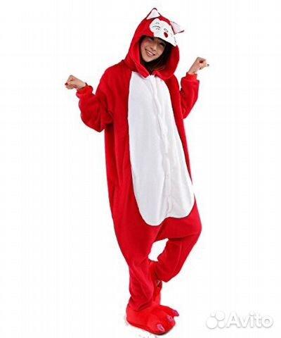 Кигуруми пижама Лиса Красная  a65175806327f