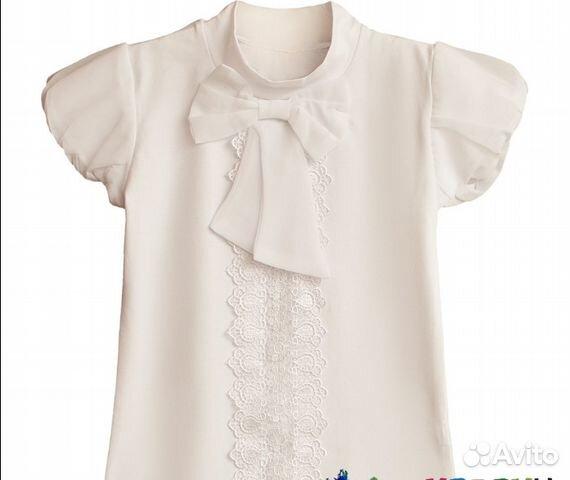 245bc3fb933 Новая белая блузка в школу купить в Ростовской области на Avito ...