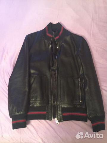 86d25700199a Кожаная куртка Gucci оригинал   Festima.Ru - Мониторинг объявлений