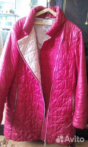 Куртка демисезонная женская. Размер 46-48 89243575950 купить 3