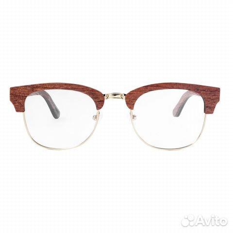 Очки с диоптриями в деревянной оправе, унисекс купить в Москве на ... b6dc06f2177