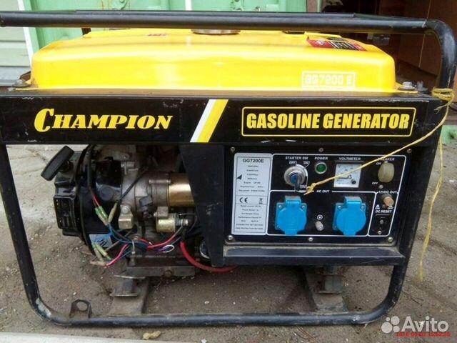 Бензиновый генератор чемпион gg7200e выбор бытовых сварочных аппаратов