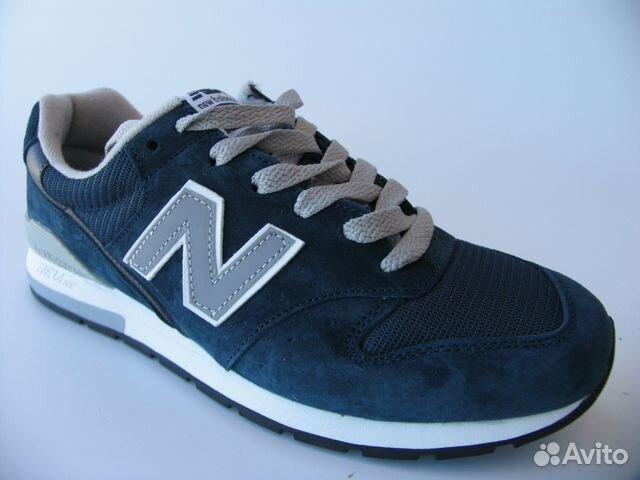 Кроссовки New Balance 574 Кожа Синяя гл.44   Festima.Ru - Мониторинг ... 20ffd62f556