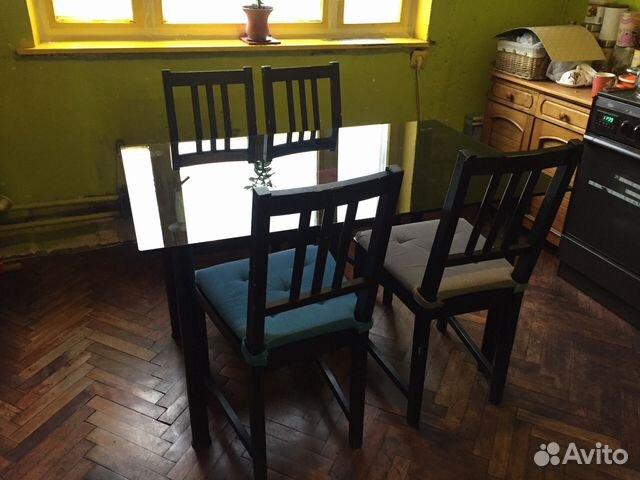 стол и стулья для кухни Ikea купить в москве на Avito объявления