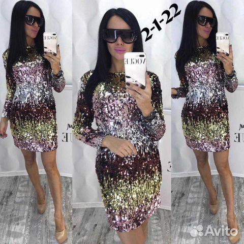 21e904f8e19 Платье пайетки