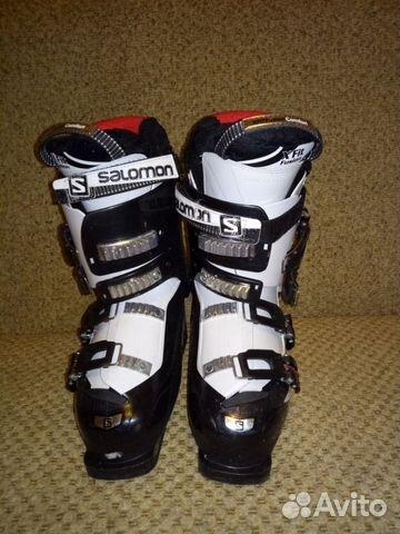 Лыжные ботинки salomon купить в Краснодарском крае на Avito ... 4151589ef9f