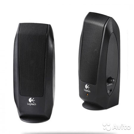 Колонки Logitech S-120 Speakers Black (980-000010)