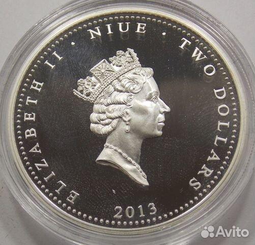 2 доллара 2013 Ниуэ.Набор монет (3 шт.) 89617538239 купить 5