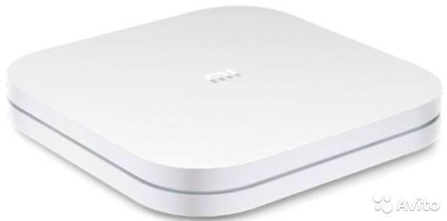 Медиаплеер Xiaomi Mi TV Box 4 (4K HDR), белый