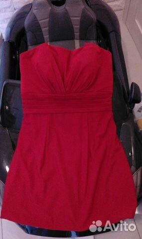 6bd85cd930e Маленькое красное платье Zara Trafaluc