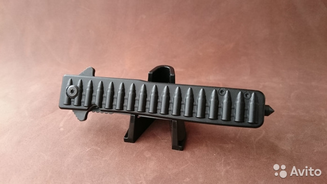 89525003388 Нож раскладной All Blk Bullets