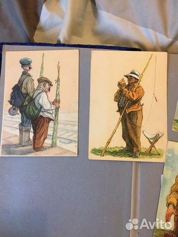 Стоимость открытки 1956 года
