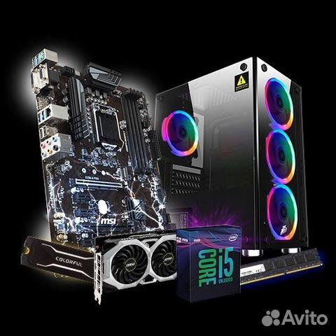 I5-9600K + RTX 2060 6GB в крутом корпусе  Новый