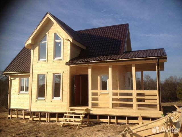 Строим каркасные деревянные дома/ из бруса