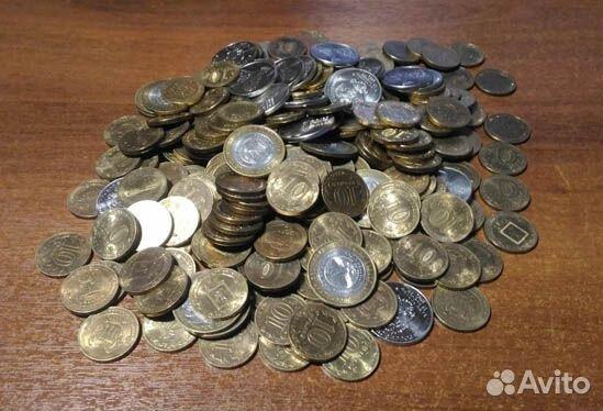 Обмен 10 рублевые юбилейные монеты  89011787475 купить 1