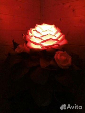 Кустик розы - ночник 89087396991 купить 4