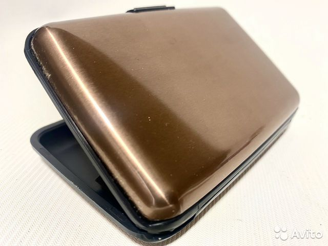 Бумажник кошелек Aluma Wallet Подарок  89788836800 купить 8