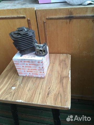 Цилиндр с поршнем от бензопилы штиль. мс 361