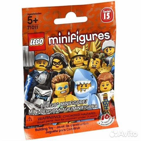 71011 lego minifigures - series 15 (2016 гв)  89824638281 купить 1