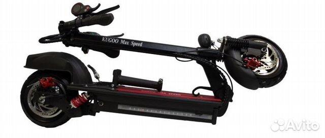 Электросамокат Kugoo Max Speed Jilong 13Ah 89110019119 купить 2