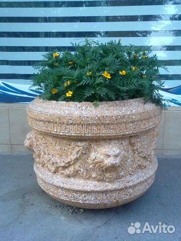 Уличные вазоны из бетона купить в омске купить формы для изготовления дорожек из бетона садовых