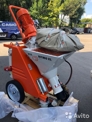 Plastering machines PFT Ritmo XL 89104717080 buy 4